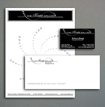 The Knapp Gallery stationery