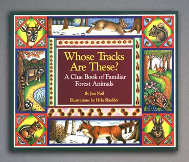 Whose Tracks are These? - book cover.