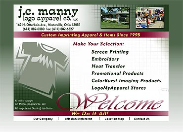 J.C. Manny home page
