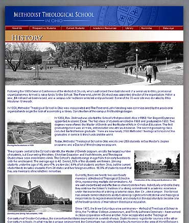 The History page.