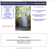 Former Methodist Theological School in Ohio web site