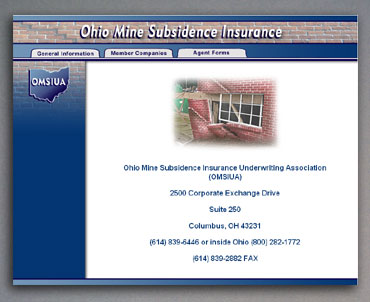 New Ohio Mine Subsidence Insurance home page